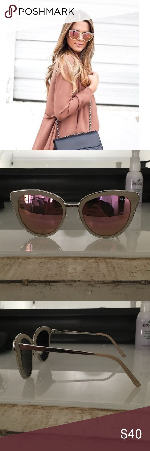 Quay sunglasses Style name: every little thing. Brand new with unopened case and clear plastic bag. Quay Australia Accessories Sunglasses