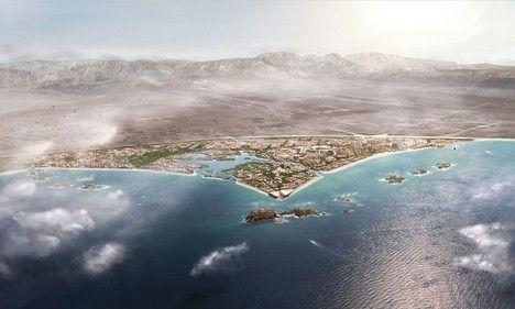 Синий город Нормана Фостера для Омана проектируется с 2007 года. Город рассчитан на проживание 200 тысяч человек.