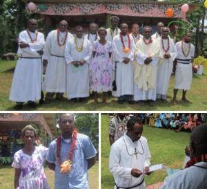 Vanuatu: Perpetual profession of Br Elie Sangul