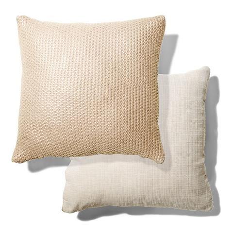 mtalic Knitted Cushion homemaker