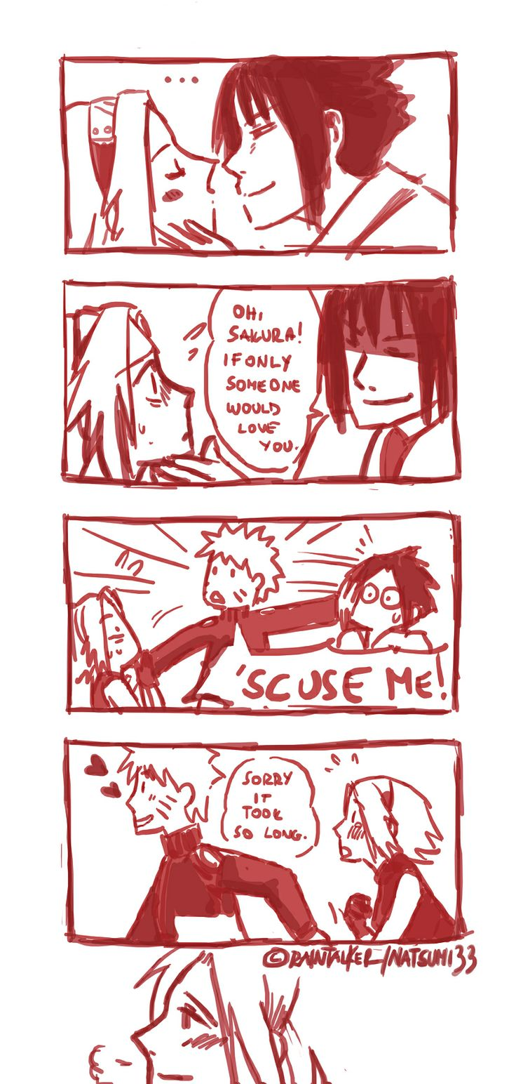 Naruto-Frozen. LMFAO! Hehe!this will be the only time that i like a pic of naruto and sakura.
