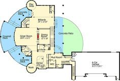 The Wow Factor! - 9534RW   Architectural Designs - House Plans