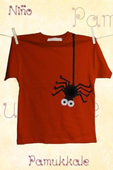 camiseta de niño  fieltro cosido con fieltro