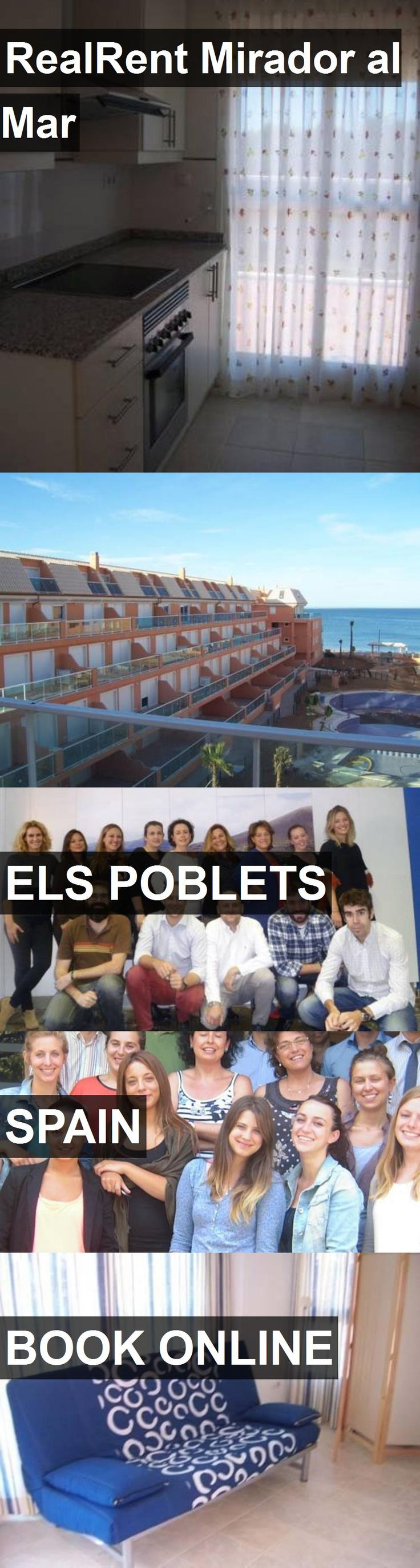 Hotel RealRent Mirador al Mar in Els Poblets, Spain. For more information, photos, reviews and best prices please follow the link. #Spain #ElsPoblets #travel #vacation #hotel