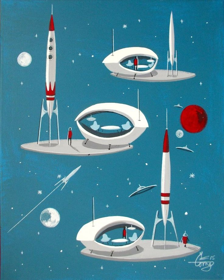1000 images about workshop ideas on pinterest paris for Retro outer space