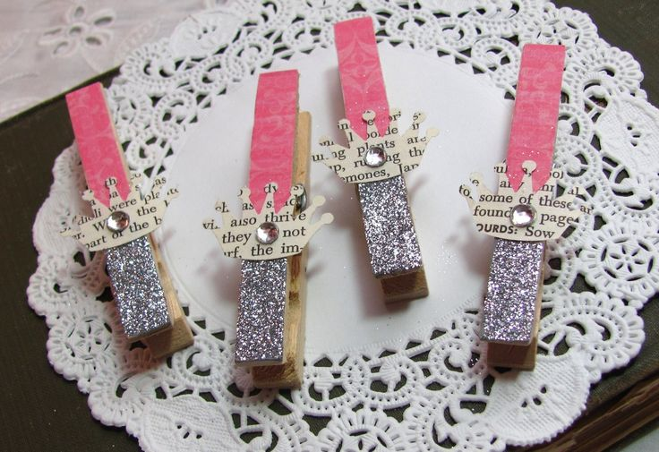 papered and glittered clothespins. so many uses...http://www.etsy.com/listing/61560985/papered-and-glittered-clothespins-in-hot
