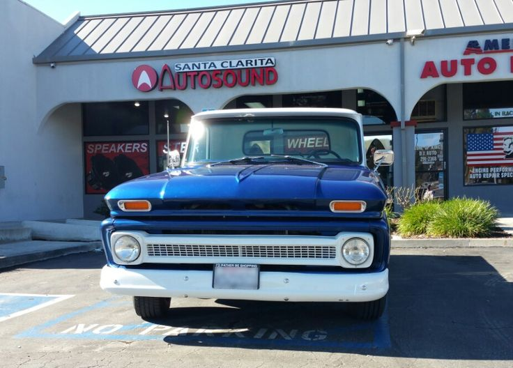 1966 Chevy Truck C10 getting work done at Santa Clarita Auto Sound. We know how to work on classic cars👌👌