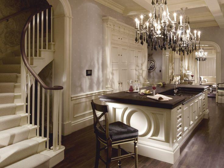 Clive Christian Ivory Kitchen  kitchen designs  Pinterest