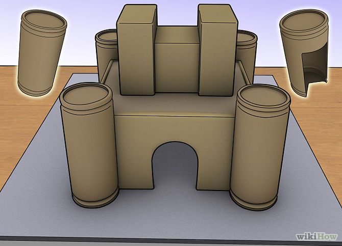 How to Make a Model Castle: 13 Steps - wikiHow