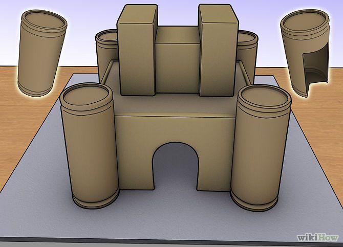 maquetes de castelos medievais de papelao - Pesquisa Google