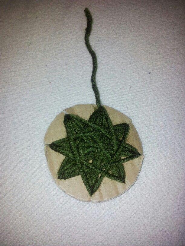 Yarn ornaments!