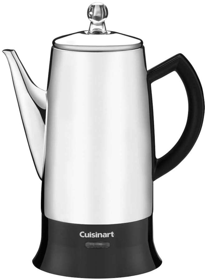 Cuisinart Classic 12 Cup Electric Percolator Percolator Coffee Maker Percolator Coffee Stainless Steel Coffee Maker