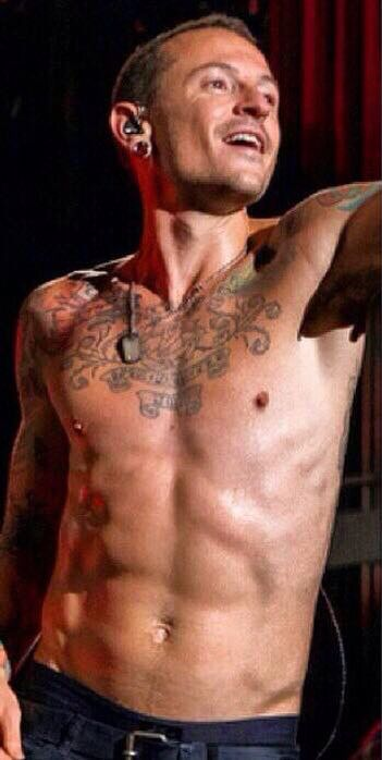 Is it getting hot in here? Chester Bennington