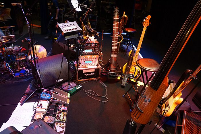 Tony Levin's Web Diary: King Crimson Rehearsals and U.S. Tour 2014