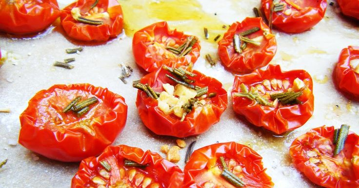 Sugar and Spice: Ofentomaten & gebackenes Tomatenpesto