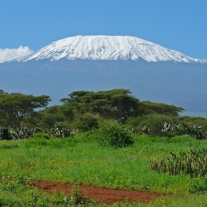 Standing at 19,340ft, Kilimanjaro is Africa's highest mountain