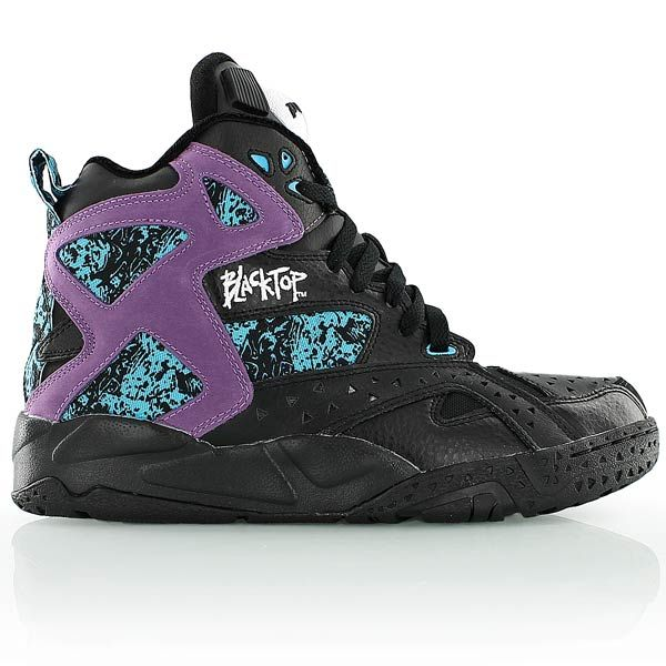 reebok BLACKTOP BATTLEGROUND blackpurple | 스니커즈