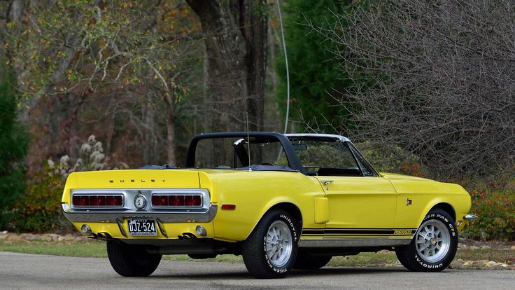 1968 Ford Mustang Shelby GT-500KR Convertible in Special Yellow - Shelby 3546