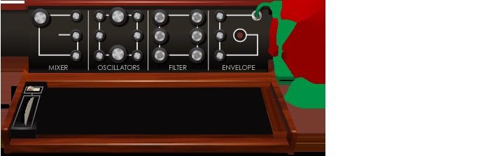 Doodle for Robert Moog Anniversary