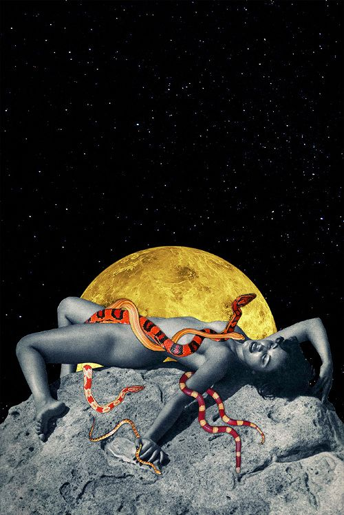 New Mythology - Eugenia's Collages