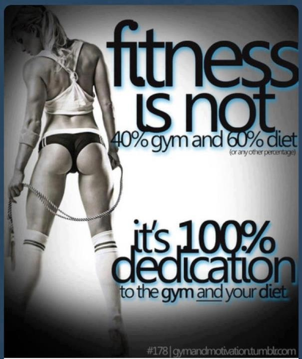 I think it's 100% gym dedication and 100% committment to watch your diet! Do I hear Paleo, Primal, Zone???