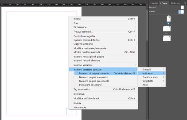 How To Number Pages With Indesign 2020 In 2020 Indesign Text Tool Being Used