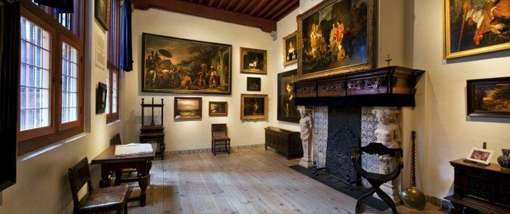 Barokki - 360° virtuaalimatka - Museum Het Rembrandthuis (360 panoraama + tietoa englanniksi) (taustaa).