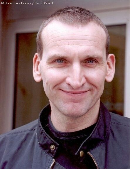 That smile is contagious! | Christopher Eccleston Will ...