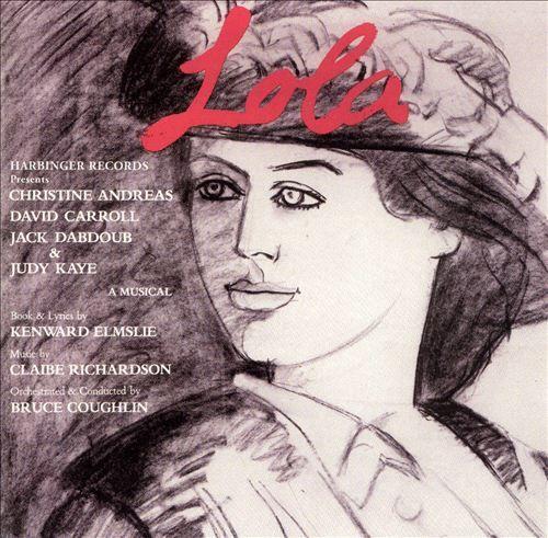 2001 Lola [Harbinger HR-1704] artwork: Alex Katz #albumcover