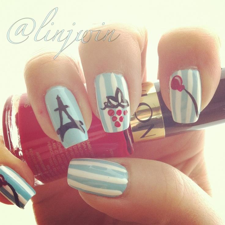 Paris nail art - Best 25+ Paris Nails Ideas On Pinterest Paris Nail Art, Cute