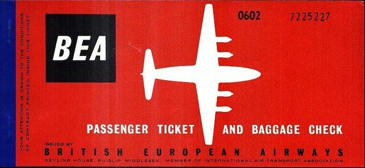 24 April 1969 - BEA Airtours was formed as a division of BEA for holiday travel - UK