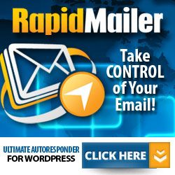 Rapid Mailer - Create Your Emal Services with a Build in Autoresponder on Your Site Using this Plugin