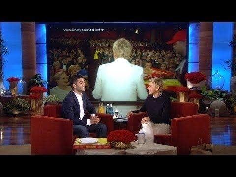 Watch Ellen Give The Oscars Pizza Guy A Proper Tip