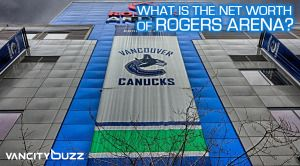 What is the net worth of Rogers Arena?