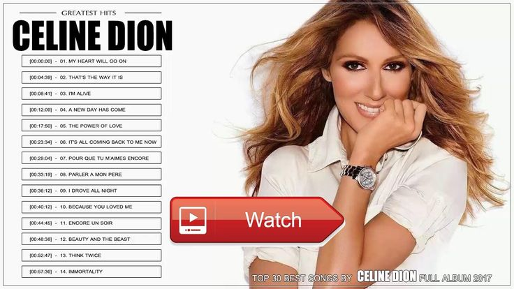 Celine Dion Greatest Hits l Celine Dion Best Playlist l Celine Dion Top Best Songs Of All Time  Celine Dion Greatest Hits l Celine Dion Best Playlist l Celine Dion Top Best Songs Of All Time Celine Dion Greatest