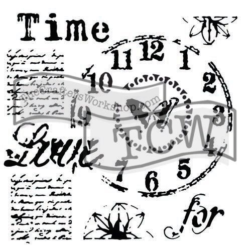 The Crafters Workshop - 6 x 6 Doodling Templates - Mini Time for Love