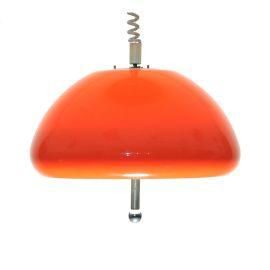 Very orange hanging lamp