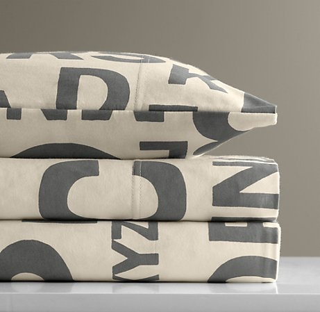 Love this in gray and ivory (as an alternative to IKEA's colorful numbers set) but it's way overpriced.