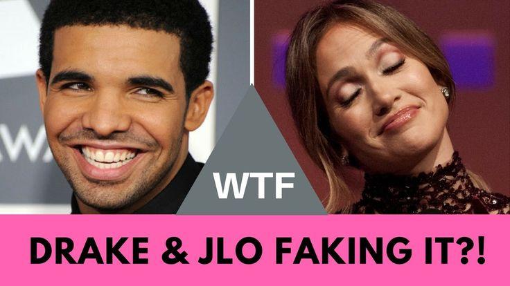 WTF! Drake & Jennifer Lopez Faking Relationship For Publicity?!