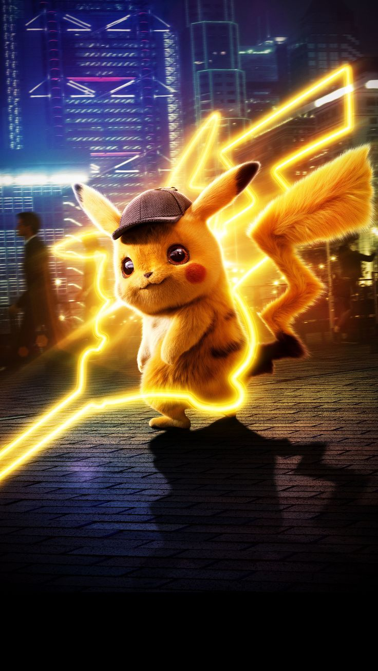 Pokemon Detective Pikachu 5k In 2160x3840 Resolution