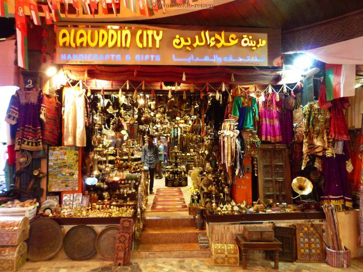 Im Muttrah-Soukh in Muscat - Feilschen ist ein Muss!