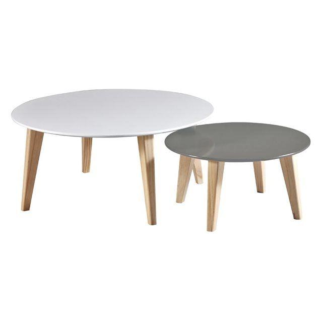 Les 25 meilleures id es concernant table gigogne - Tables basses modulables ...