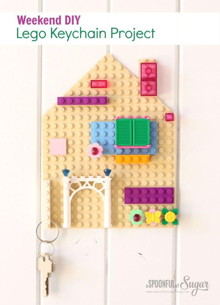 Lego Keychain Project using Dremel 4000 and Dremel Moto ...