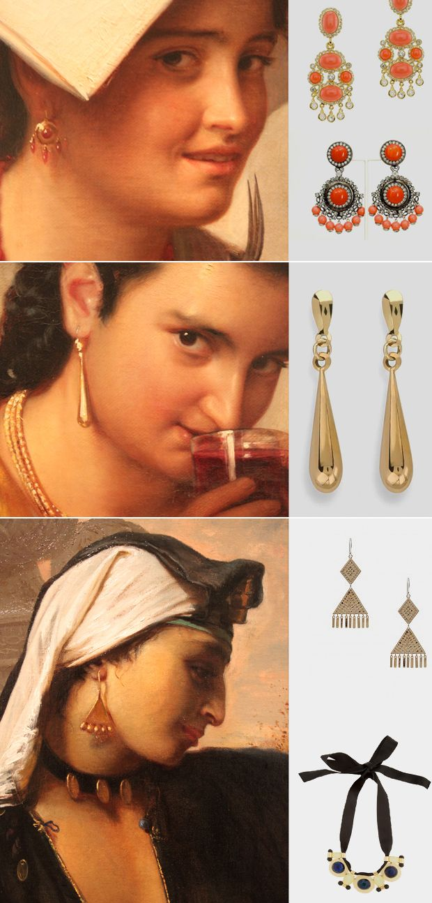 Get the look--from the 1700's!