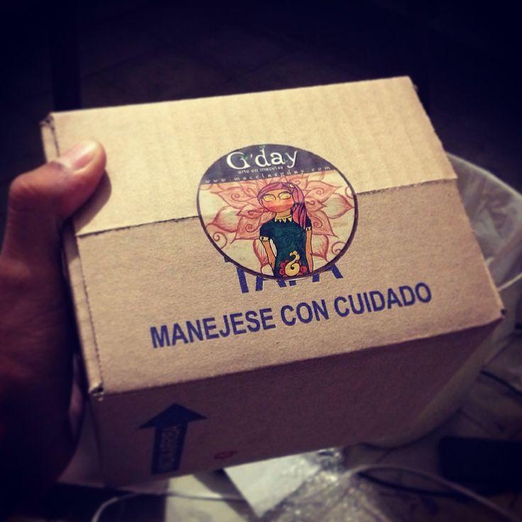 Listo para la entrega!!!  visita www.kichink.com/stores/macetasgday y adquiere tu Maceta Gday. Enviamos gratis a toda la Republica Mexicana y con costo minimo al resto del mundo.