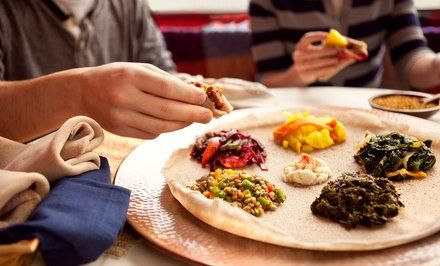 image for 45% Off at Abyssinia Ethiopian Restaurant
