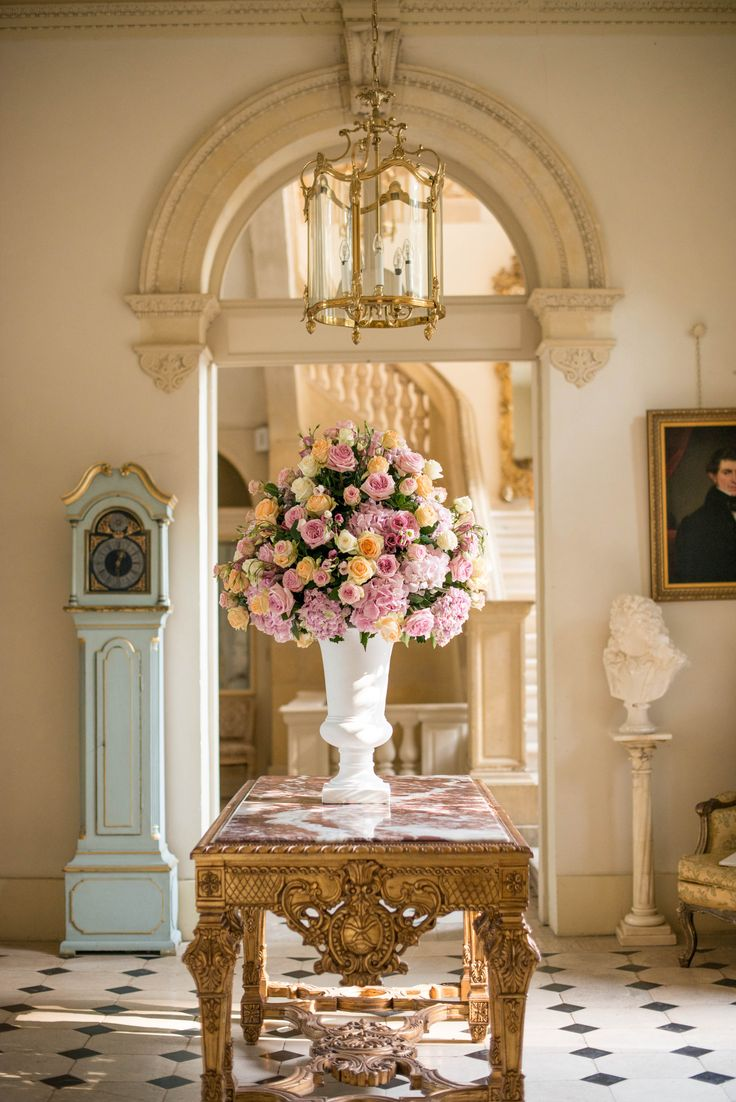 One of my favourite colour combinations. Floral display at Chateau La Durantie France  Louise Adby Photography