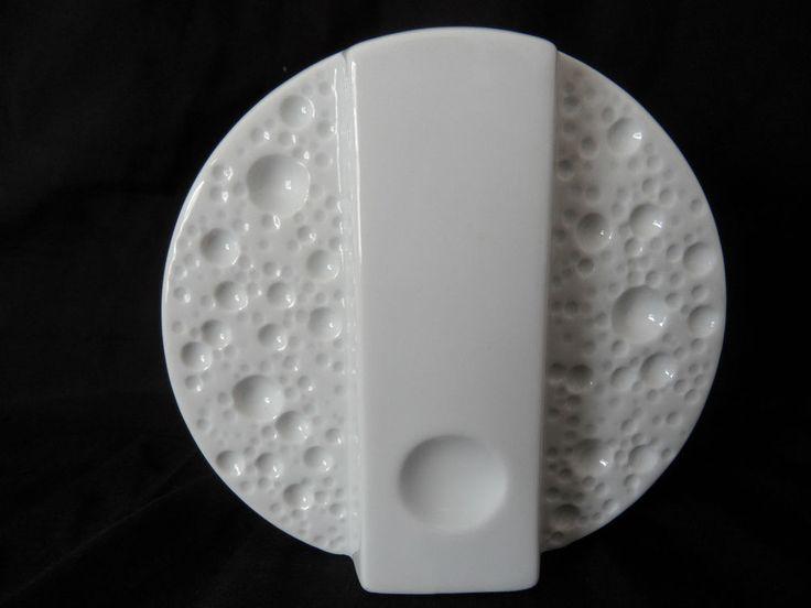 Runde Design Porzellan Vase op art  Moon Craters Mondkrater von Winterling (A66)  | eBay