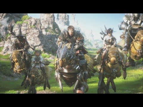 FINAL FANTASY XIV: A Realm Reborn - A New Beginning... Square Enix has a thing for making really emotional games - this is my favourite opening sequence ; )