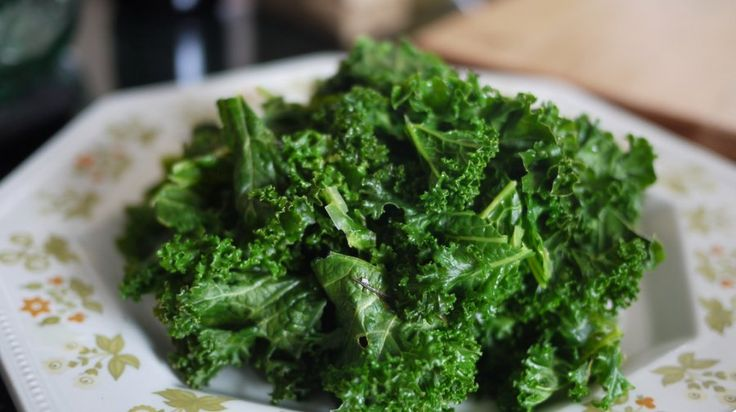 Kale avocado salad that I have shared with people...